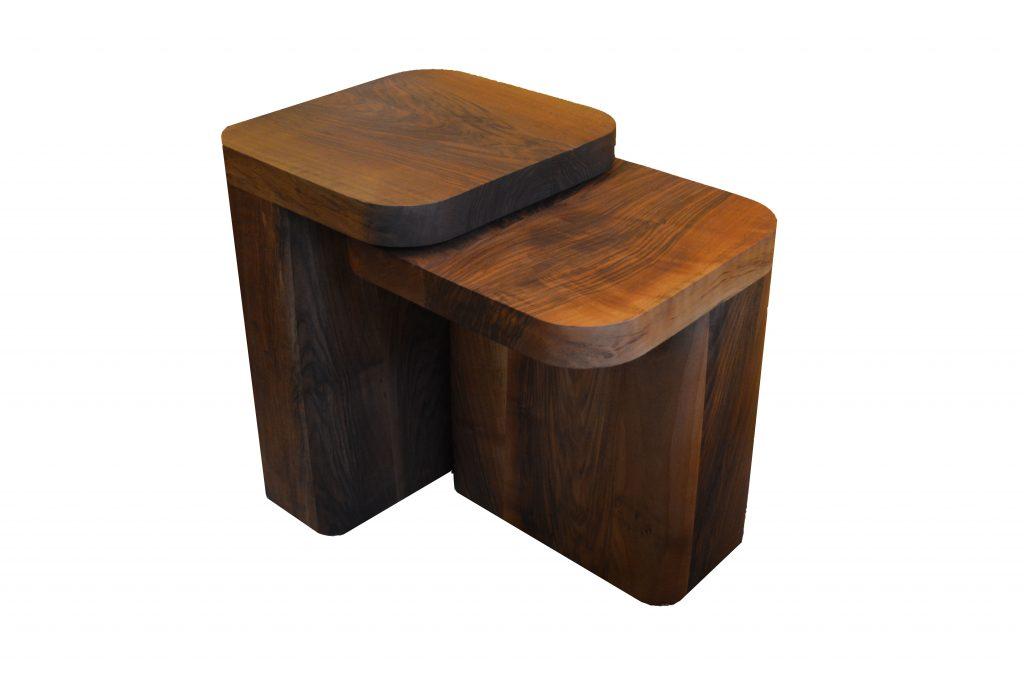 Wooden Side Table Set