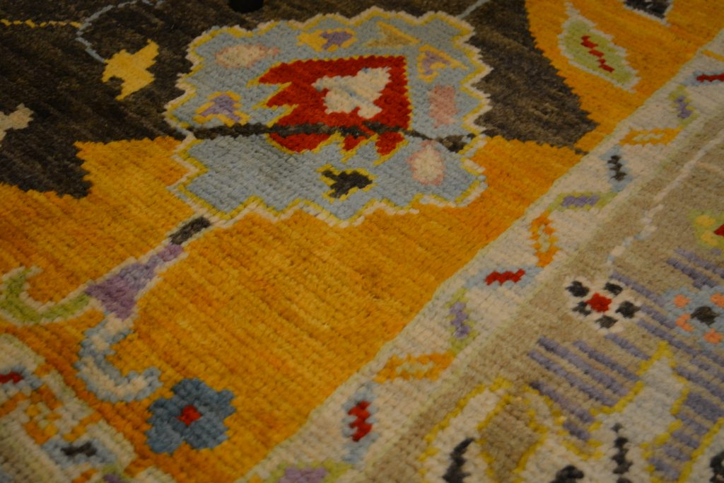 Detail of the Anatolian Rug