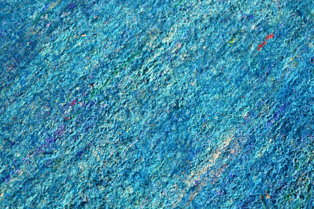 Detail of the Blue Sari Silk