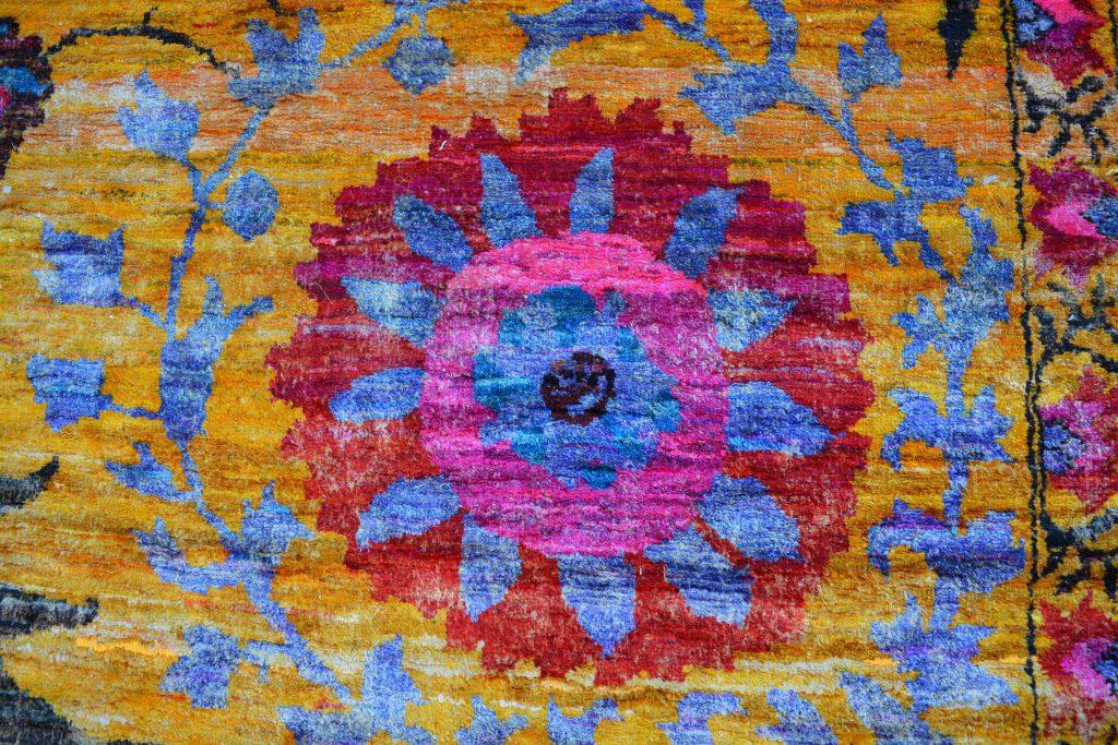 Detail of the Sari Silk