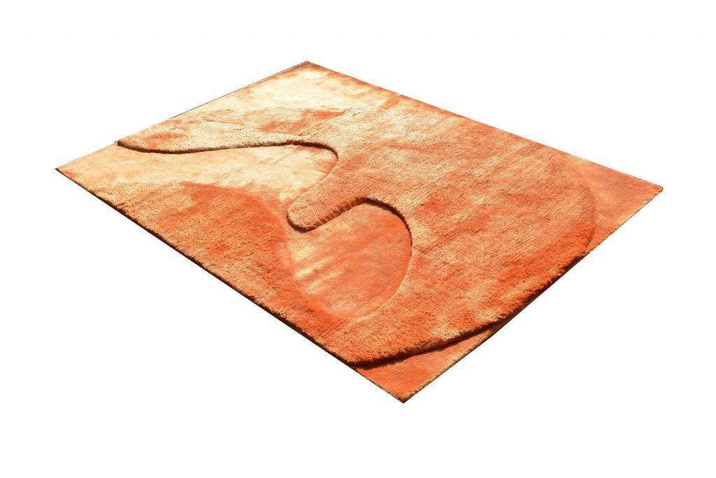 Wall Carpet / Carpet - Hand Knotted Bamboo Silk 120 x 175 cm